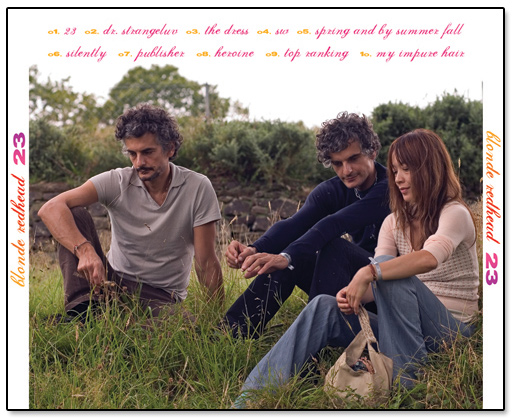 Blonde Redhead 23 Back CD Cover