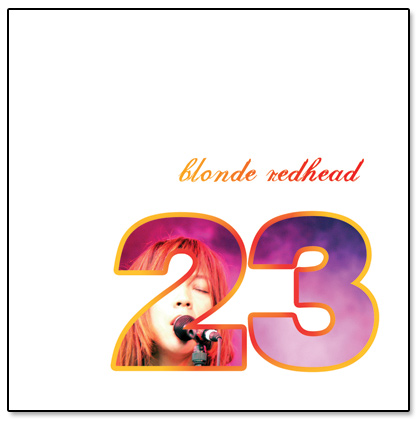 Blonde Redhead 23 CD Cover