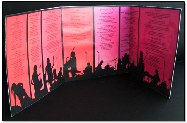 Blonde Redhead 23 CD Liner Notes (execution)
