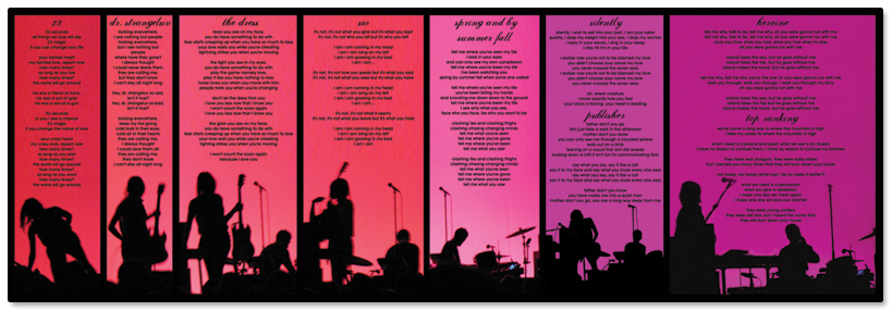 Blonde Redhead 23 CD Liner Notes (concept)