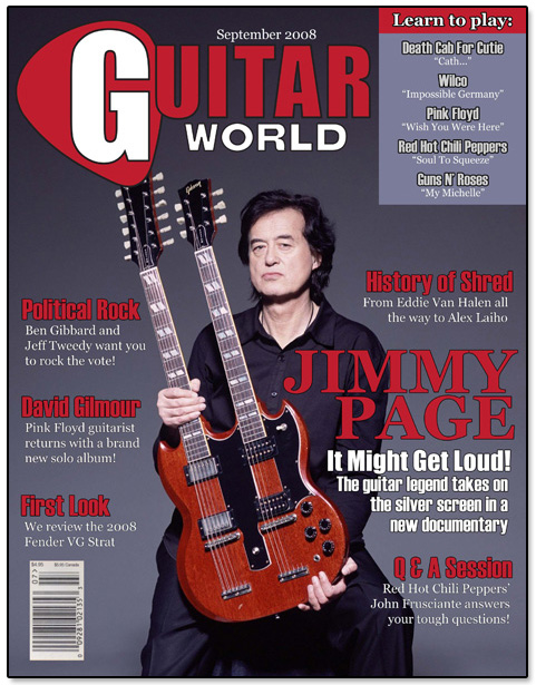 Guitar World Cover Design