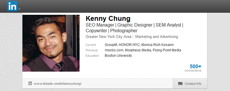 Kenny Chung on LinkedIn