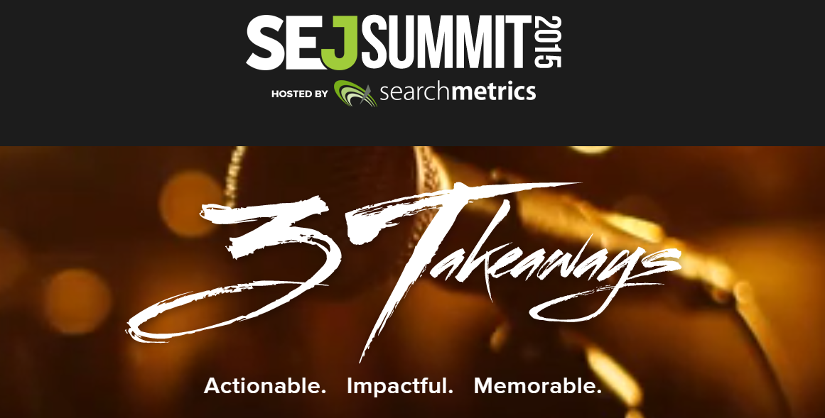 SEJ Summit NYC 2015