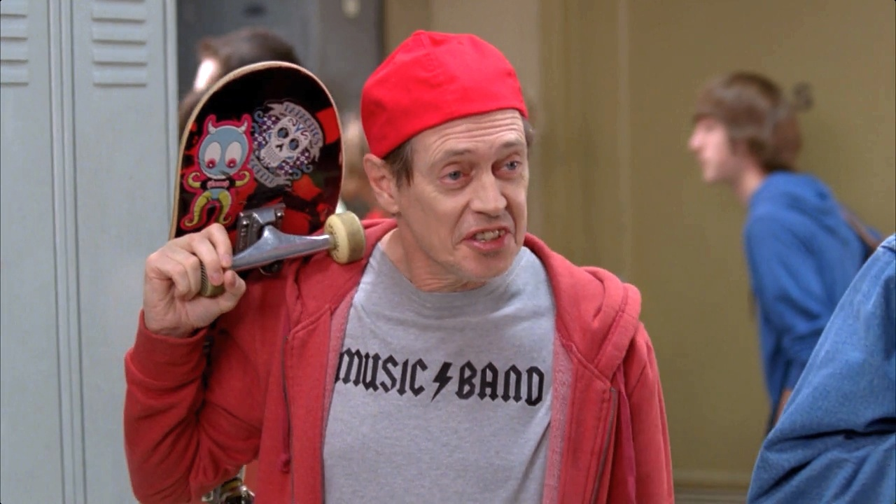 Steve Buscemi Fellow Kids joke on 30 Rock