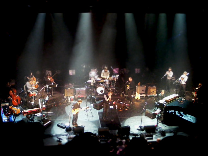 The National performing at the Brooklyn Academy of Music