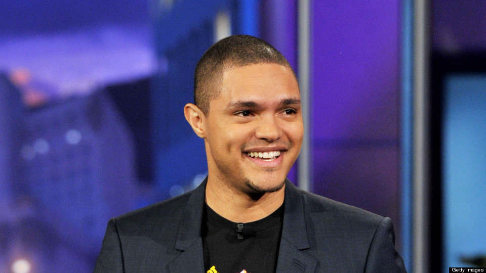 Trevor Noah, the new host of The Daily Show